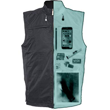 AyeGear V26 Vest with 26 Pockets, Dual Pockets for iPad or Tablets