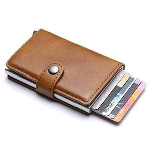 RFID Vintage Business Wallet