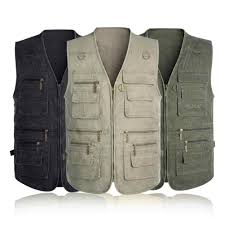 Tiger Castle Travel Vest with 16 Pockets