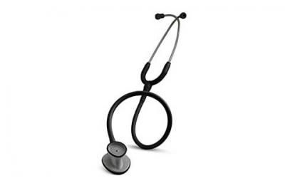 3M Littmann Lightweight II S.E. Stethoscope, Black Tube