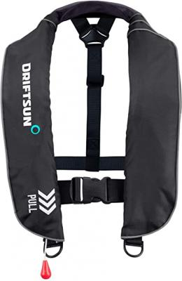 Driftsun Universal Fit Automatic/Manual Inflatable Life Vest PFD