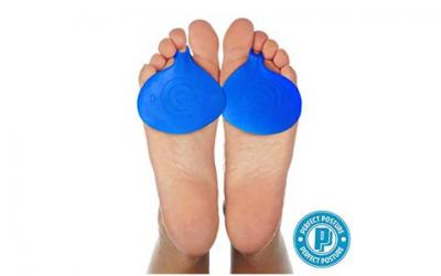 Metatarsal Pads, 1 Recommended Hapad Ball of Foot Forefoot Cushion Silicone Gel Arch
