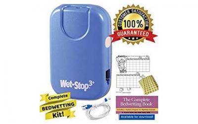 Wet Stop 3 Bedwetting Alarm (BLUE) 6 Alarms & Vibration