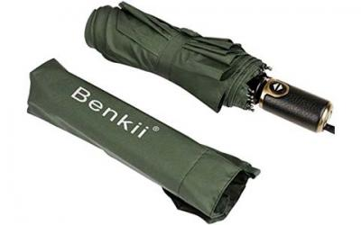 Benkii 60 Mph Windproof 10 Ribs Travel Umbrella