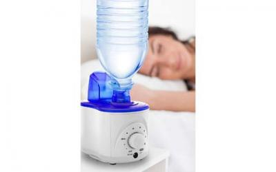 Bell+Howell Ultrasonic Personal Portable Humidifier-Cool Mist- lasts up to 12 hours per water bottle