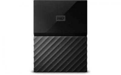 WD 4TB Black My Passport  Portable External Hard Drive - USB 3.0