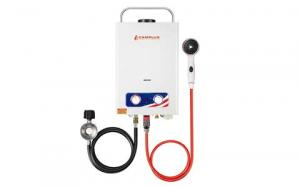CAMPLUX ENJOY OUTDOOR LIFE Pro BD158 1.58GPM Propane Tankless Gas Water Heater