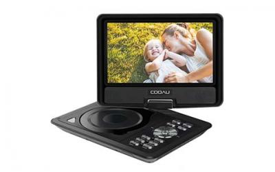 COOAU 11.5-Inch Portable DVD Player with 9.5-Inch Swivel Screen