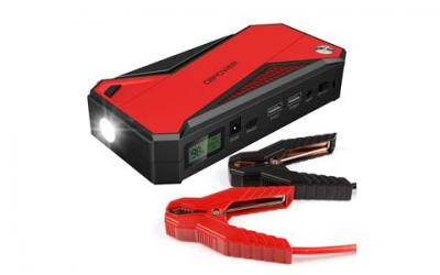 DBPOWER 600A 18000mAh Portable Car Jump Starter