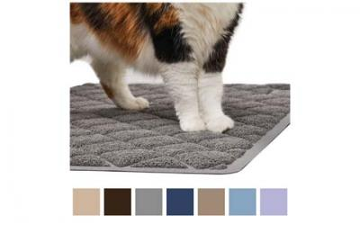 Gorilla Grip Original Premium Durable Cat Litter Mat, XL Jumbo, No Phthalate, Water Resistant