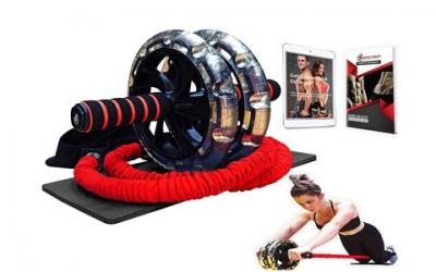 INTENT SPORTS Multi Functional Ab Wheel