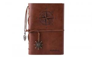 MALEDEN Refillable Daily Travel Journal