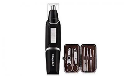 Morpilot Nose Ear Hair Trimmer for Men Water Resistant