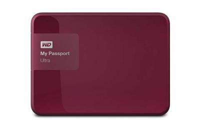 WD 3TB USB 3.0 My Passport Ultra Portable External Hard Drive