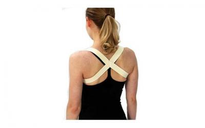 The 2 in 1 Posture Brace | Posturific Brace.com (Medium, Beige)