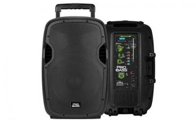 Pro Bass Underground 15, Portable Battery Powered