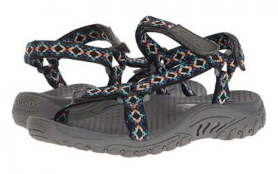 Skechers Women's Reggae Misty Morning Sandal