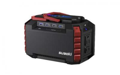 SUAOKI Portable Power Station 150Wh Quiet Gas Free Solar Generator
