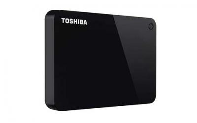 Toshiba Canvio Advance 1TB Portable External Hard Drive USB 3.0, Black
