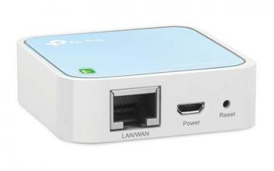 TP-Link N300 Wireless Wi-Fi Nano Travel Router