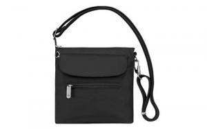 Travelon Anti-Theft Classic Mini Shoulder Bag, Black