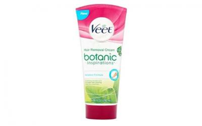 veet botanic inspirations sensitive formula