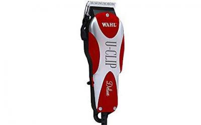 Wahl Professional Animal Deluxe U-Clip Pet Clipper Trimmer Grooming Kit